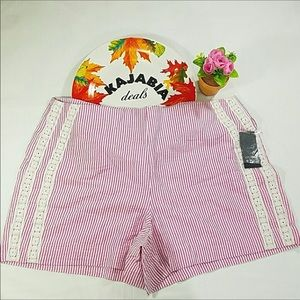 CRIWN & IVY Pink Shorts NWT Size 10